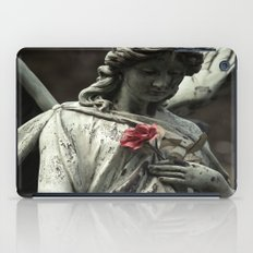 Angel With A Rose iPad Case