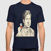 Mulder Mens Fitted Tee Navy SMALL
