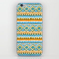 Desert Sunrise Ikat iPhone & iPod Skin