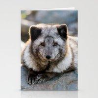 Vulpes Lagopus Stationery Cards