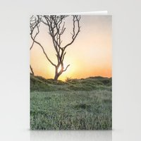 Barrier Island Sunrise II Stationery Cards