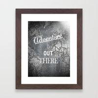 Adventure Framed Art Print