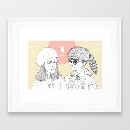 """I love you but you don't know what you're talking about"" Framed Art Print"