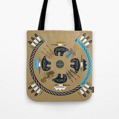American Native Pattern No. 10 Tote Bag