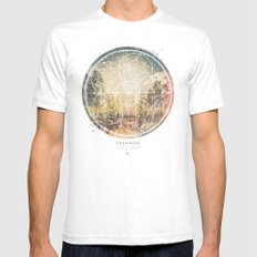 Fernweh Vol 7 White Mens Fitted Tee SMALL