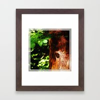 The Light Of Love Framed Art Print