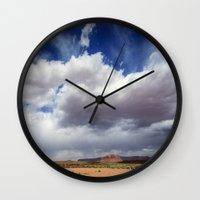 Desert Big Sky Wall Clock