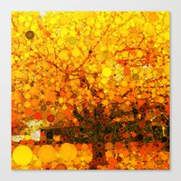 :: It Was All Yellow :: Canvas Print
