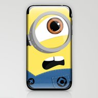 Minion iPhone & iPod Skin