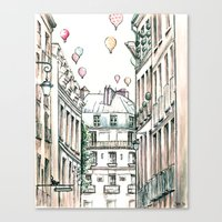 City Love Canvas Print