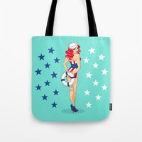 Independence Girl Tote Bag