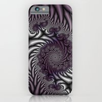 Purple and Gray iPhone 6 Slim Case