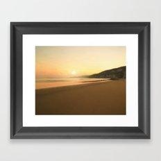 The Morning Sun Framed Art Print