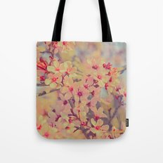 Vintage Blossoms - In Memory of Mackenzie Tote Bag
