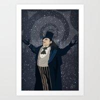 Oswald Cobblepot - The K… Art Print