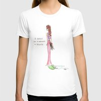 I Really Am A Mermaid Womens Fitted Tee White SMALL