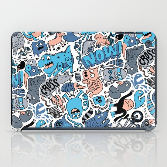 Gross Pattern iPad Case