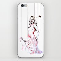 La Robe Rouge iPhone & iPod Skin