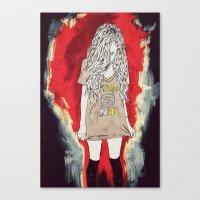 üss Canvas Print