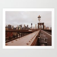 Brooklyn Bridge 02 Art Print