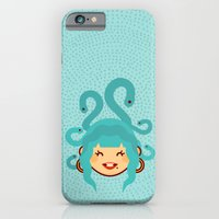 iPhone & iPod Case featuring Medusa by Ann Van Haeken