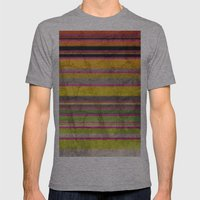 Burn Baby Burn Mens Fitted Tee Athletic Grey SMALL