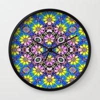 Daffodil Garden Wall Clock
