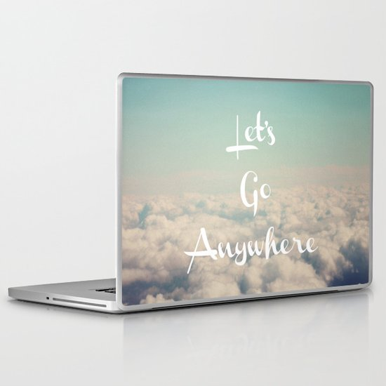 Let's Go Anywhere Laptop & iPad Skin