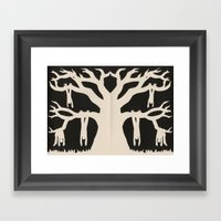 The Old Oak Tree Framed Art Print