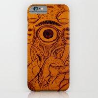 iPhone & iPod Case featuring XARAXIN- Cosmic Terror by Steve Hamilton