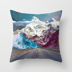 The Last Stretch Throw Pillow