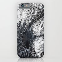 iPhone & iPod Case featuring Paris Map by Nicolas Jolly