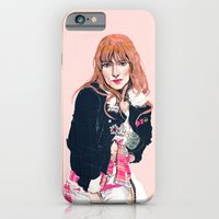iPhone & iPod Case featuring Oliva Wilde by leeem