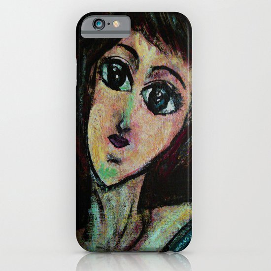 AWESOME GIRL iPhone & iPod Case