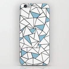 Ab Out Blue Blocks iPhone & iPod Skin