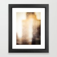 Buildings With a Touch of Gold 2 Framed Art Print