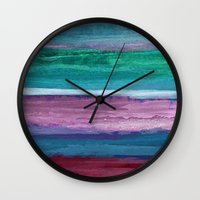 Different Strokes Wall Clock