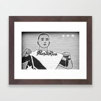 San Juan Shutter Framed Art Print