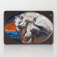 The Pharoah's Horses iPad Case