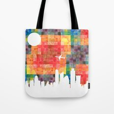 Goodbye Blue Sky Tote Bag