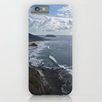 iPhone & iPod Case featuring Coastal Cliff by Todd Langland