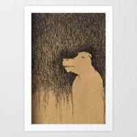 Fading Slowly Art Print