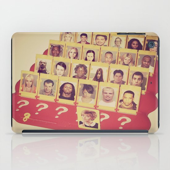 Guess Who iPad Case