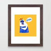 Ice King Looks Crazy See… Framed Art Print
