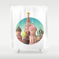 Saint Basil's Cathedral Shower Curtain