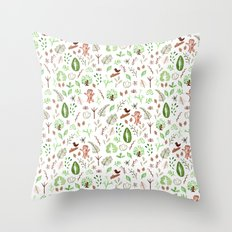 Nature Pattern Throw Pillow