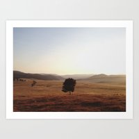 La Grande Morning Art Print
