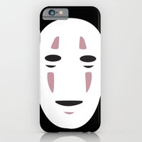 iPhone & iPod Case featuring Spirited Away No Face by JAGraphic