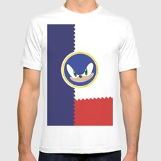 Windy Hill Zone SMALL Mens Fitted Tee White