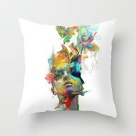 Throw Pillow featuring Dream Theory by Archan Nair